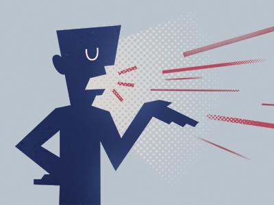 Talker o Transmisor de información versus Líder